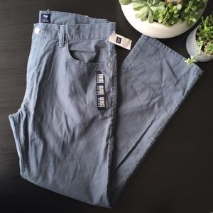 Gap Factory Twill Straight Fit Pants